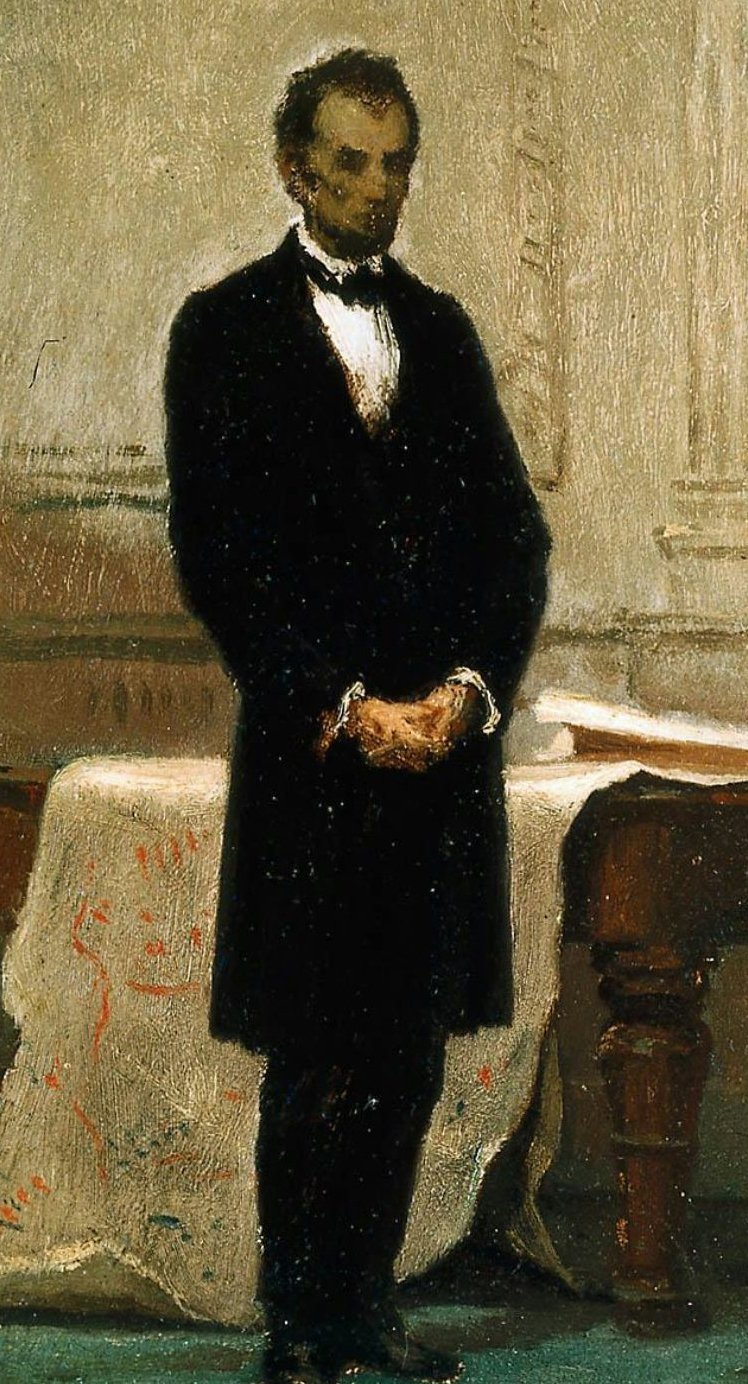 Abraham Lincoln 1865 | William Morris Hunt | oil painting