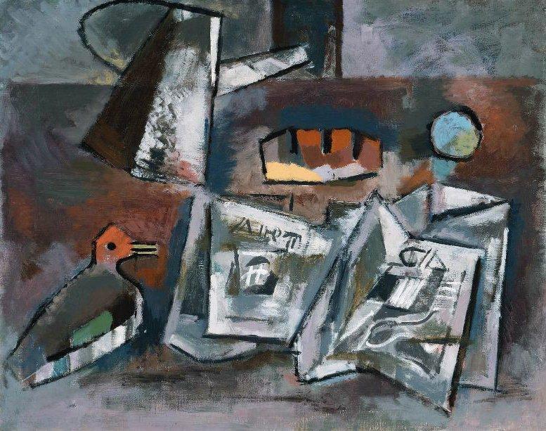 Duck Decoy 1940 | Karl Knaths | oil painting