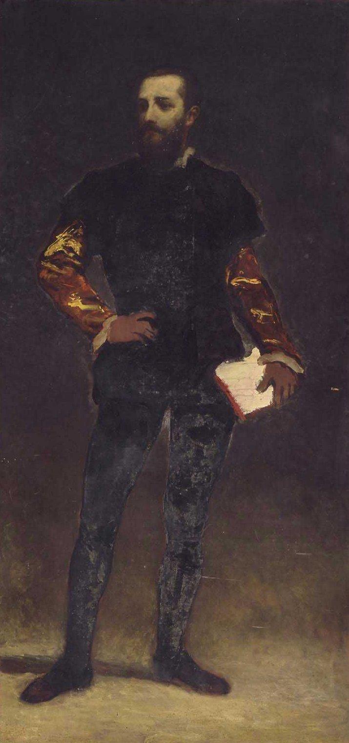 Felix Regamy 1864 | William Morris Hunt | oil painting