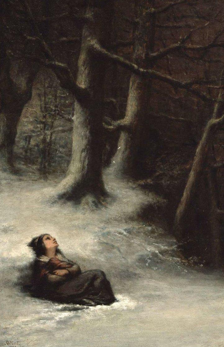 The Snow Storm 1859 | William Morris Hunt | oil painting