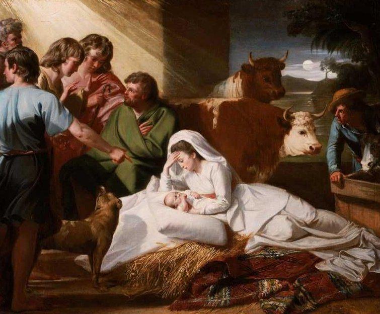 The Nativity 1776 | John Singleton Copley | oil painting