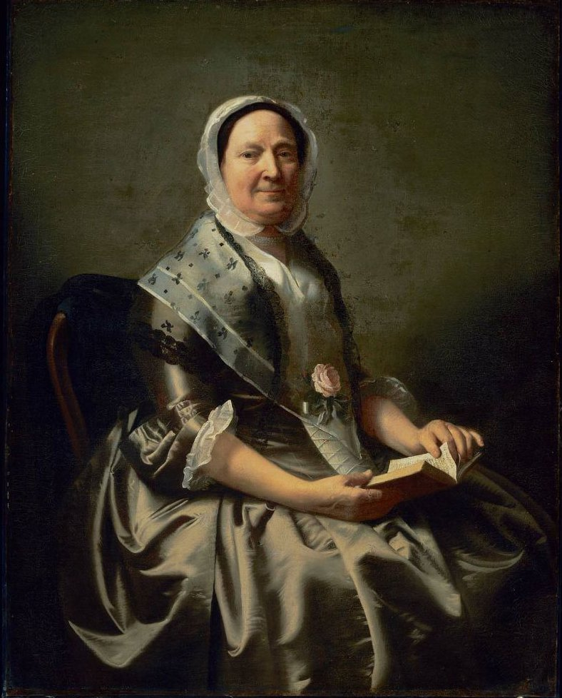 Mrs Nathaniel Ellery Ann Sargent 1766 | John Singleton Copley | oil painting