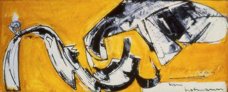 Embrace 1947 | Hans Hofmann | oil painting