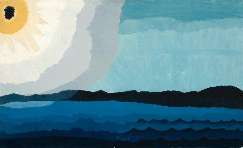 Sun on the Lake 1938 | Arthur Garfield Dove | oil painting
