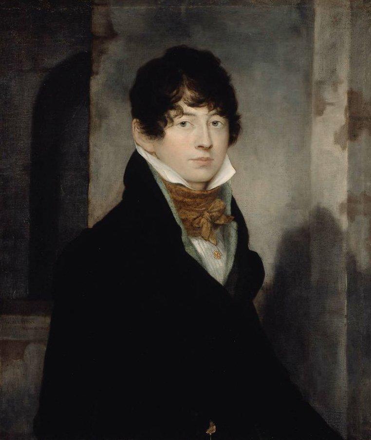Self Portrait 1805 | Washington Allston | oil painting