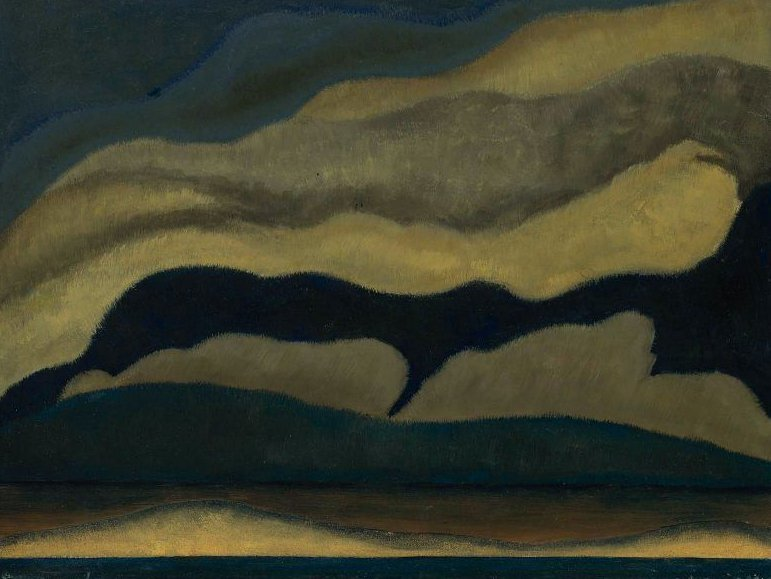 Clouds 1927 | Arthur Garfield Dove | oil painting