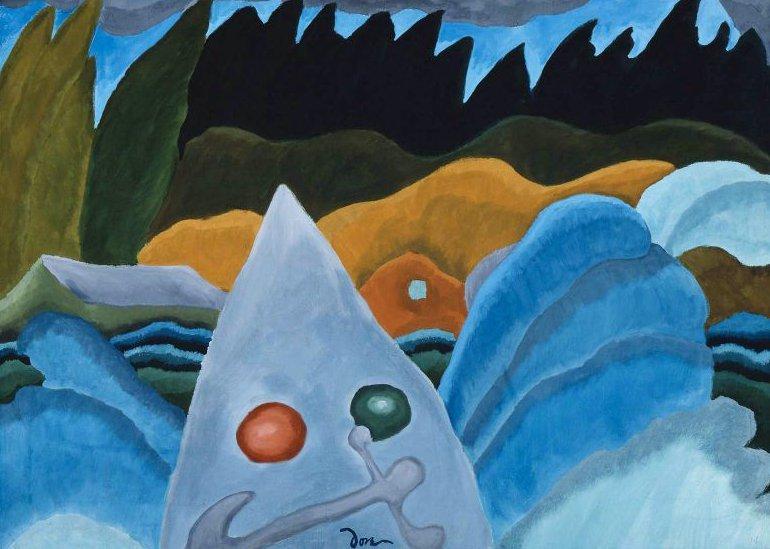 Motor Boat 1938 | Arthur Garfield Dove | oil painting