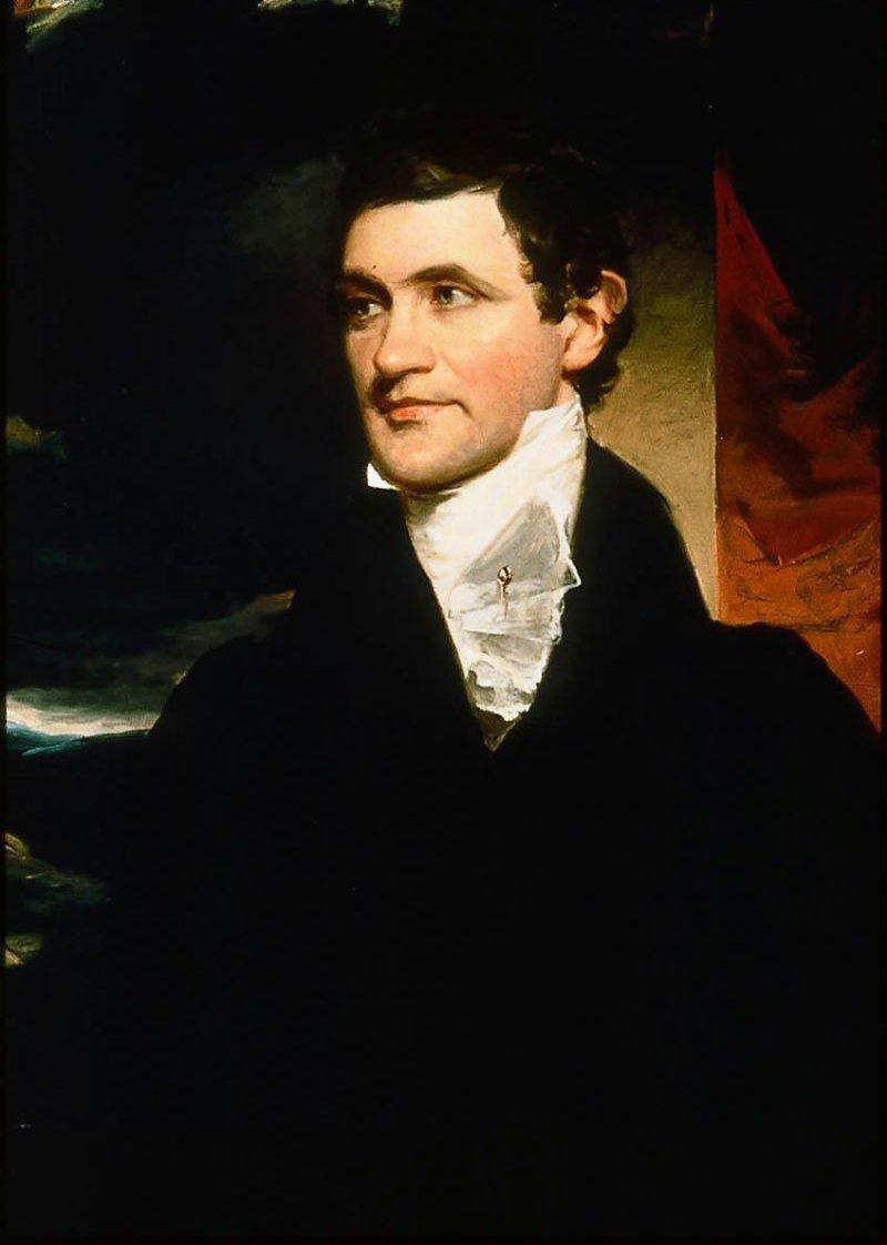 George Peabody 1822   John Neagle   oil painting