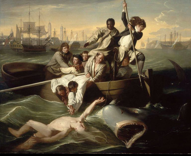 Watson and the Shark 1778 | John Singleton Copley | oil painting