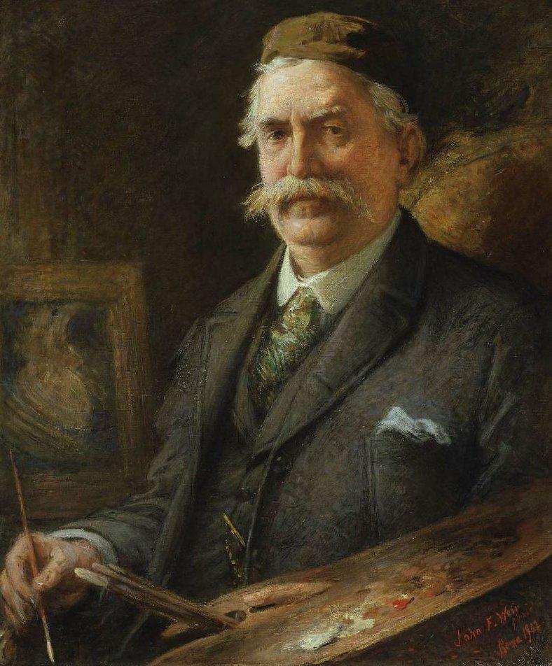 Elihu Vedder 1902 | John Ferguson Weir | oil painting