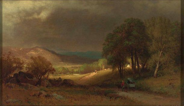 After the Storm 1860s | William Hart | oil painting