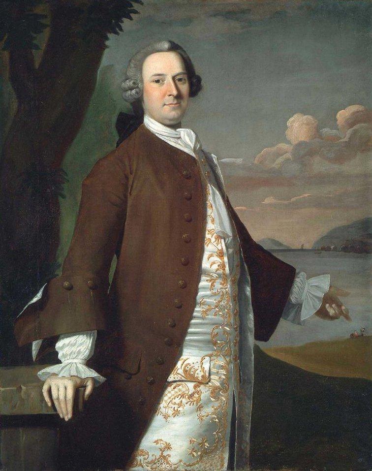 Isaac Winslow 1748 | Robert Feke | oil painting
