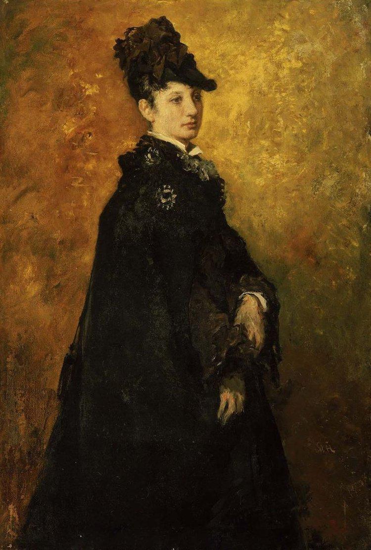 Portrait of a Lady 1870 | William Morris Hunt | oil painting
