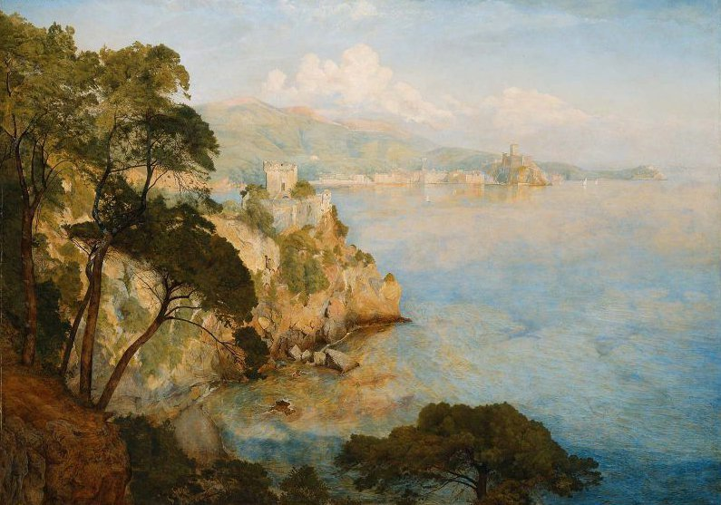 Gulf of Spezia 1884 | Henry Roderick Newman | oil painting