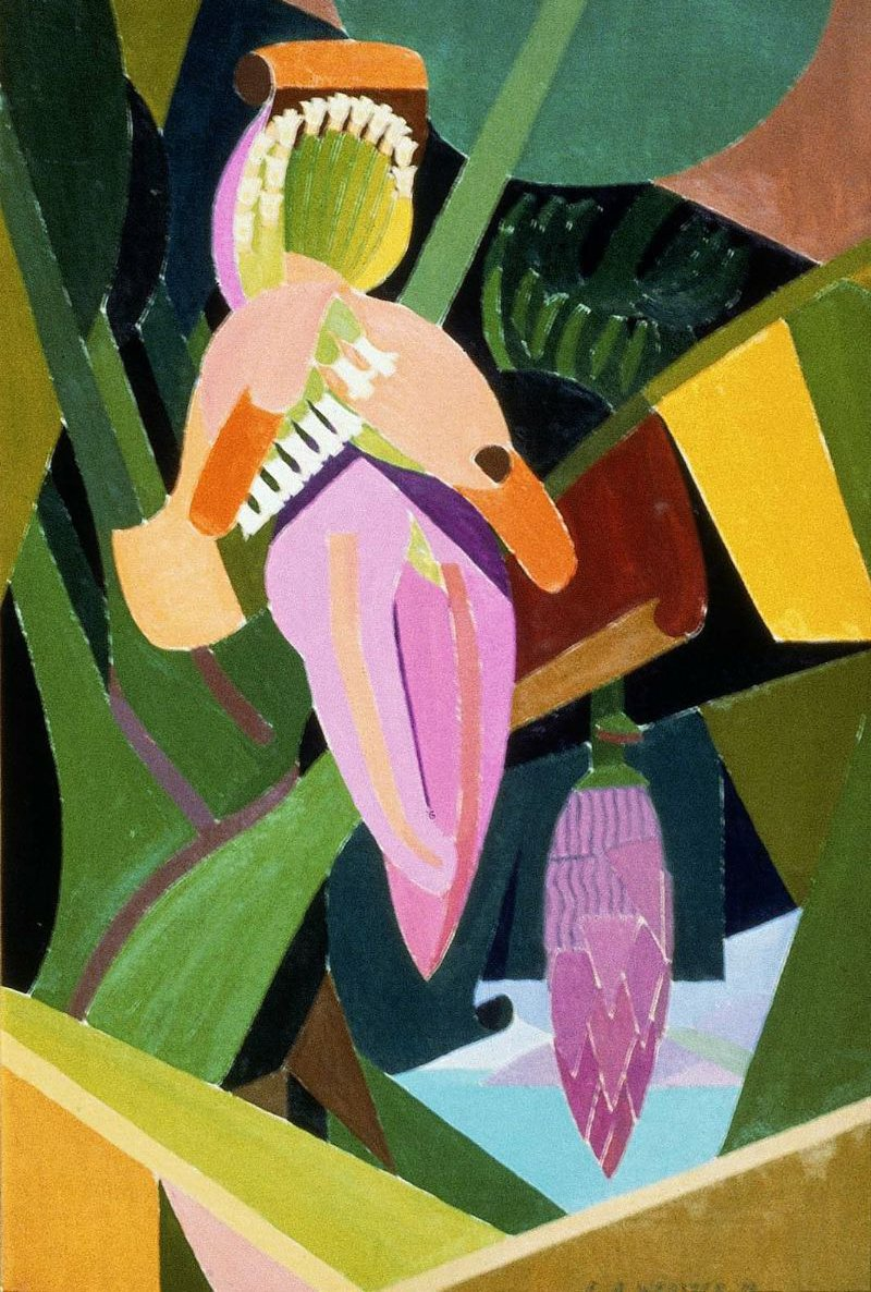 Banana 1925 | Edwin Ambrose Webster | oil painting
