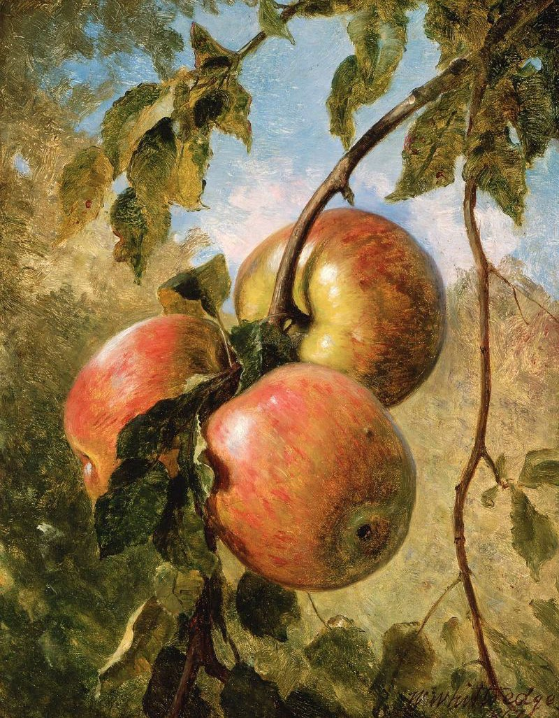 Apples 1867 | Thomas Worthington Whittredge | oil painting