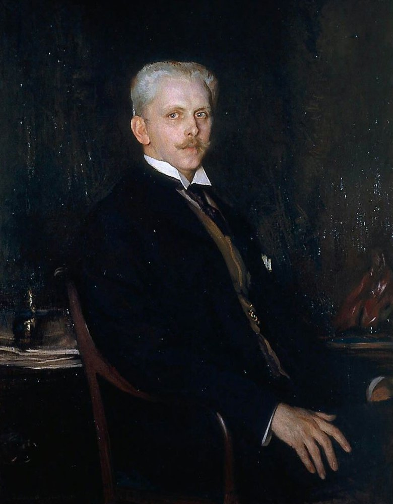 Edward Robinson 1906 | Edmund Charles Tarbell | oil painting