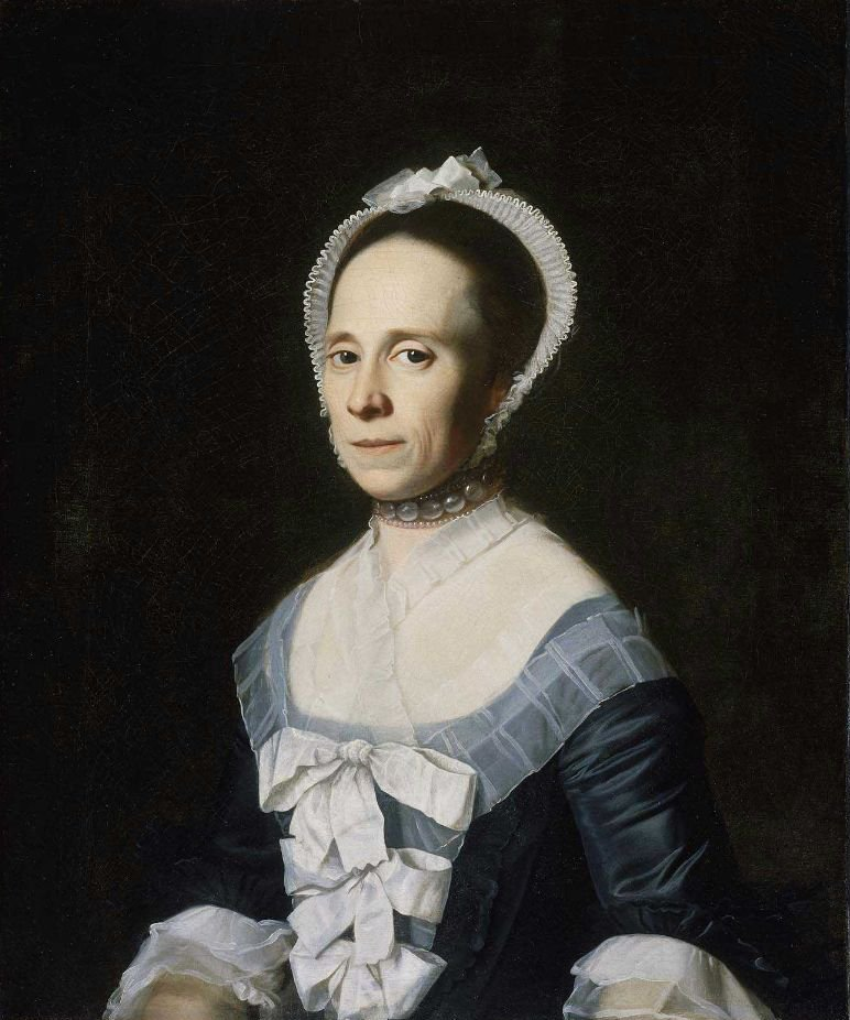Mrs William Coffin Ann Holmes 1770 | John Singleton Copley | oil painting