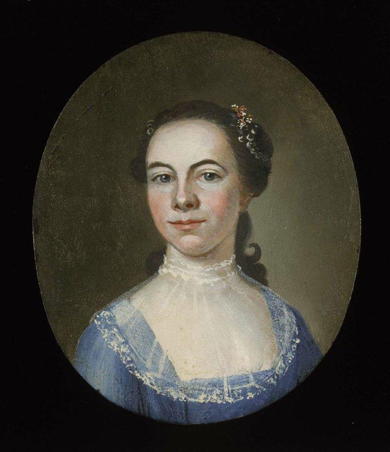 Miss Russell 1755 | John Singleton Copley | oil painting