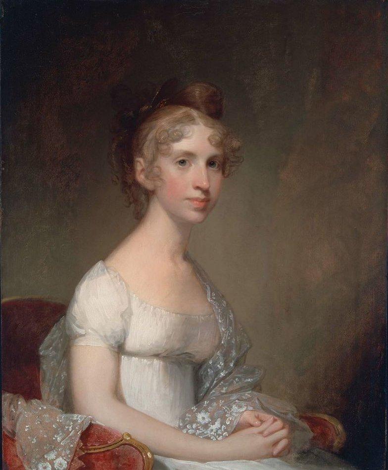 Anna Powell Mason Mrs Patrick Grant 1807 | Gilbert Stuart | oil painting