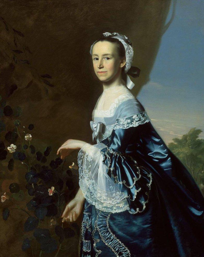 Mrs James Warren Mercy Otis 1763 | John Singleton Copley | oil painting