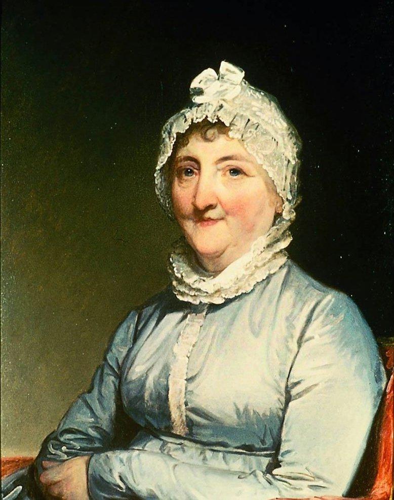 Mrs Paul Revere Rachel Walker 1813 | Gilbert Stuart | oil painting