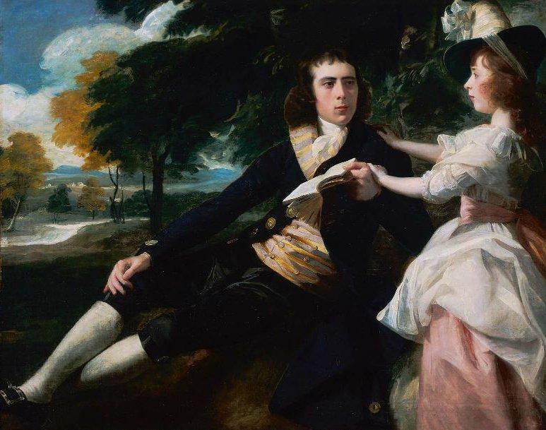 Thomas Lane and His Sister Harriot 1792 | John Singleton Copley | oil painting