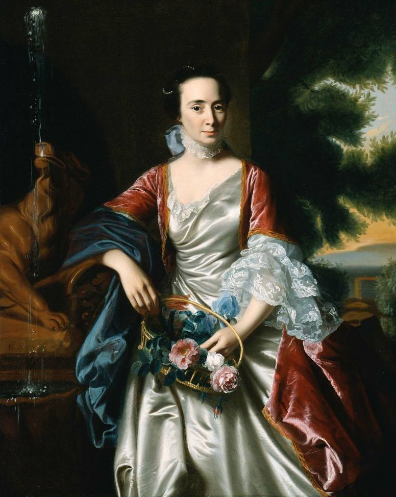 Rebecca Boylston 1767 | John Singleton Copley | oil painting