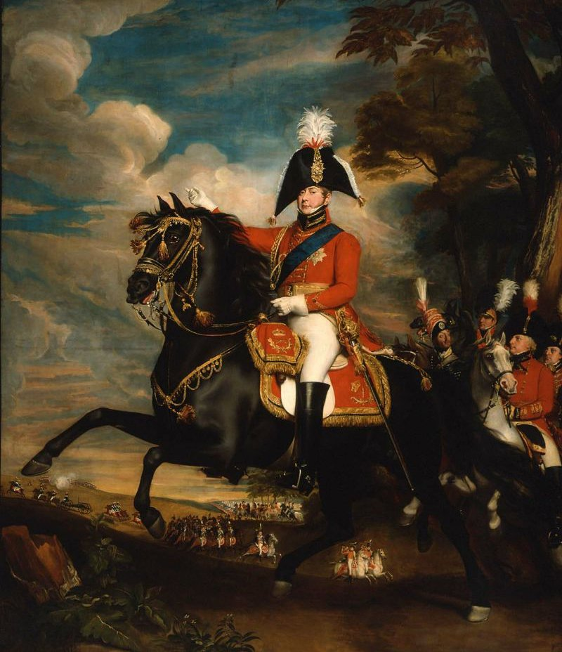 George IV When Prince of Wales 1809 | John Singleton Copley | oil painting