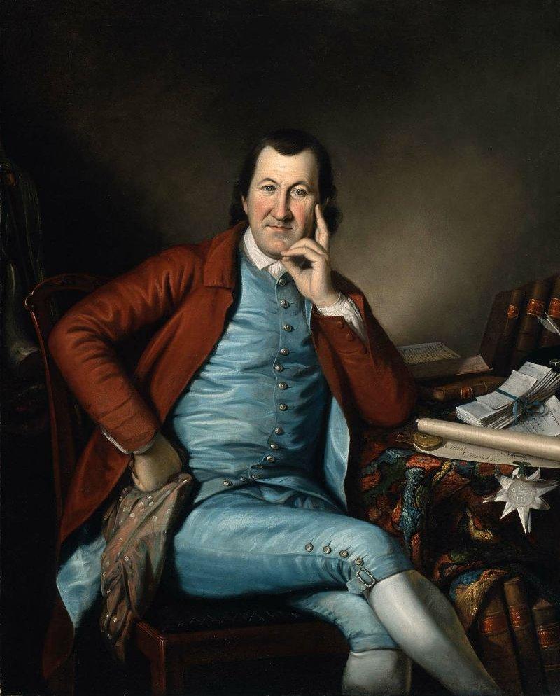 Timothy Matlack 1790 | Charles Willson Peale | oil painting