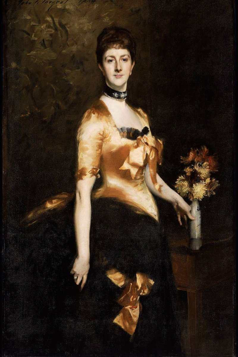 Edith Lady Playfair Edith Russell 1884 | John Singer Sargent | oil painting