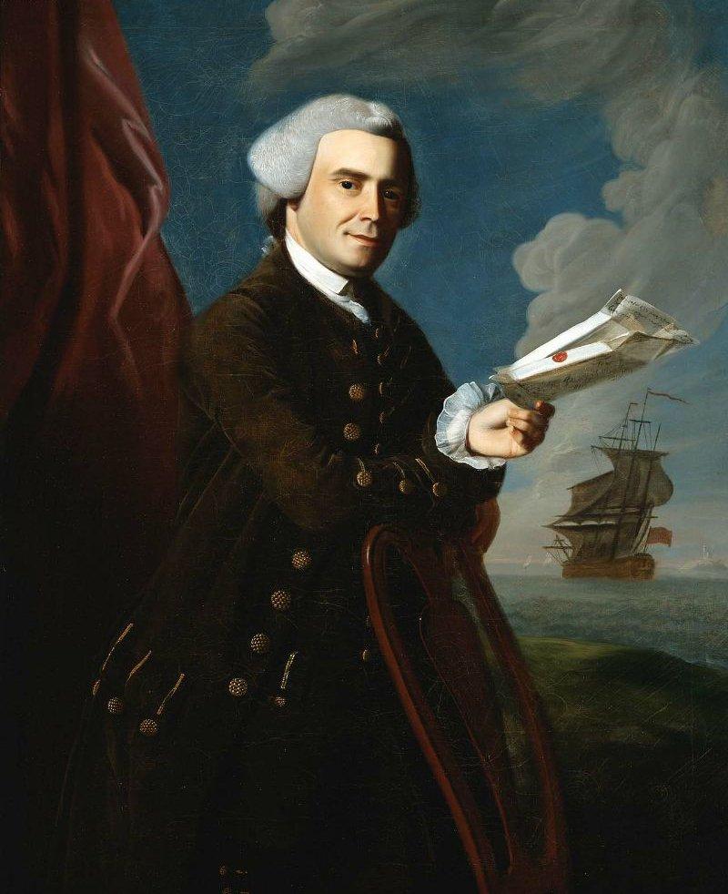 John Amory 1768 | John Singleton Copley | oil painting