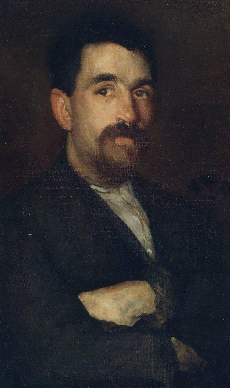 The Master Smith of Lyme Regis 1895 | James Abbott McNeill Whistler | oil painting