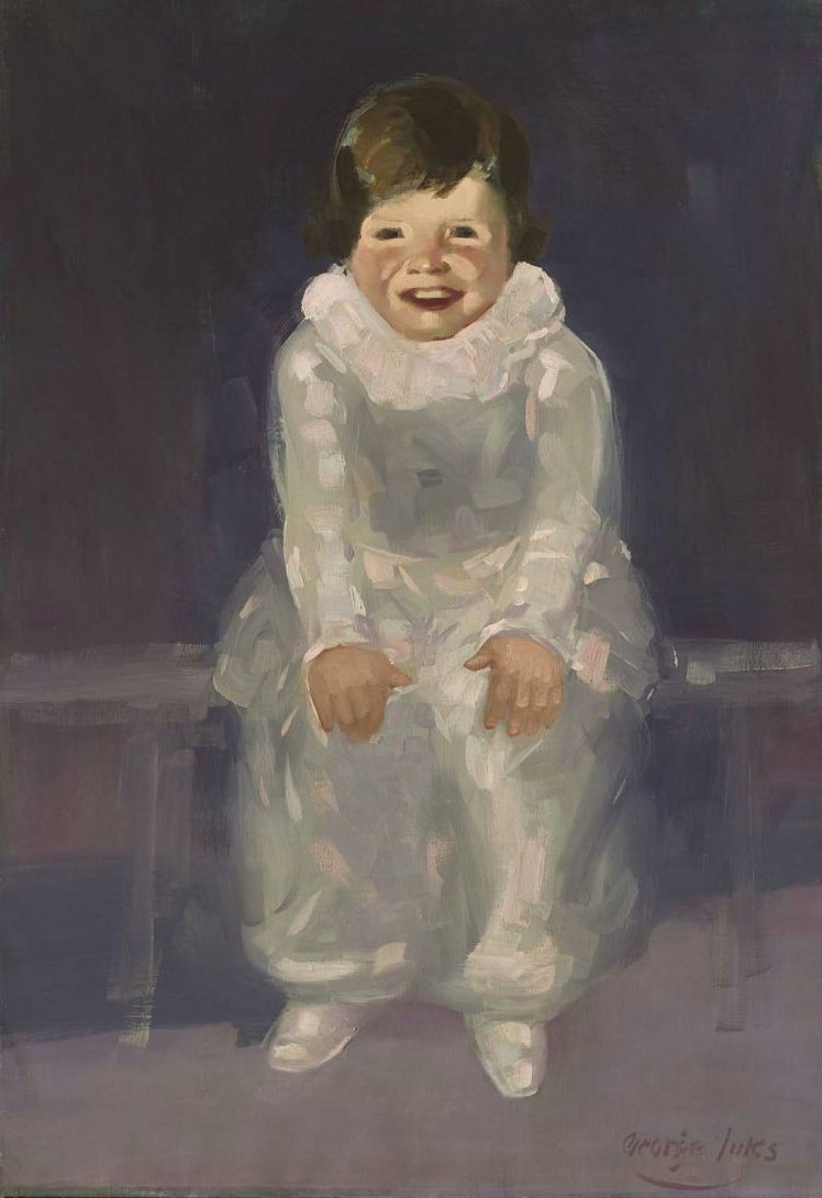 Jenny 1925 | George Benjamin Luks | oil painting