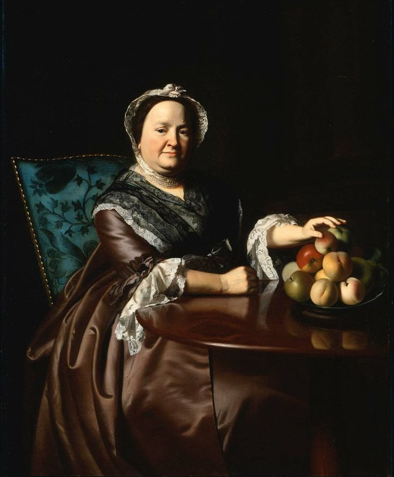 Mrs Ezekiel Goldthwait Elizabeth Lewis 1771 | John Singleton Copley | oil painting