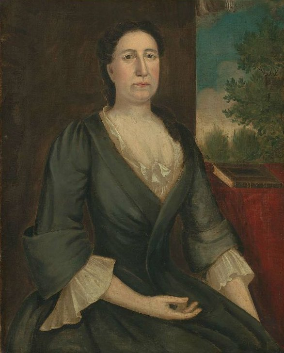 Mrs William Foye Elizabeth Campbell 1750 | Joseph Badger | oil painting
