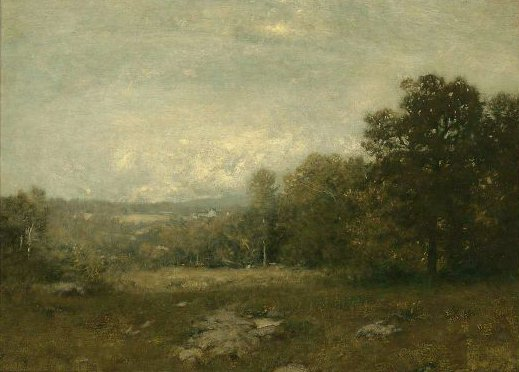 A Gray Day 1880s | Alexander Helwig Wyant | oil painting