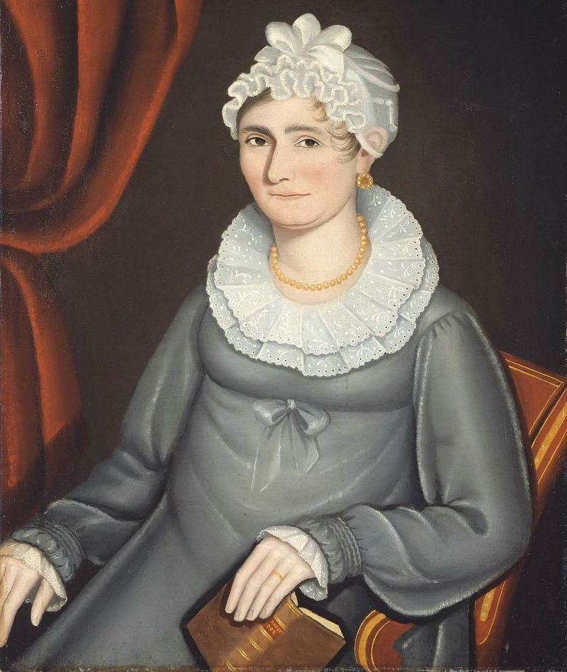 Jane Daney Smith 1820 | Ammi Phillips | oil painting