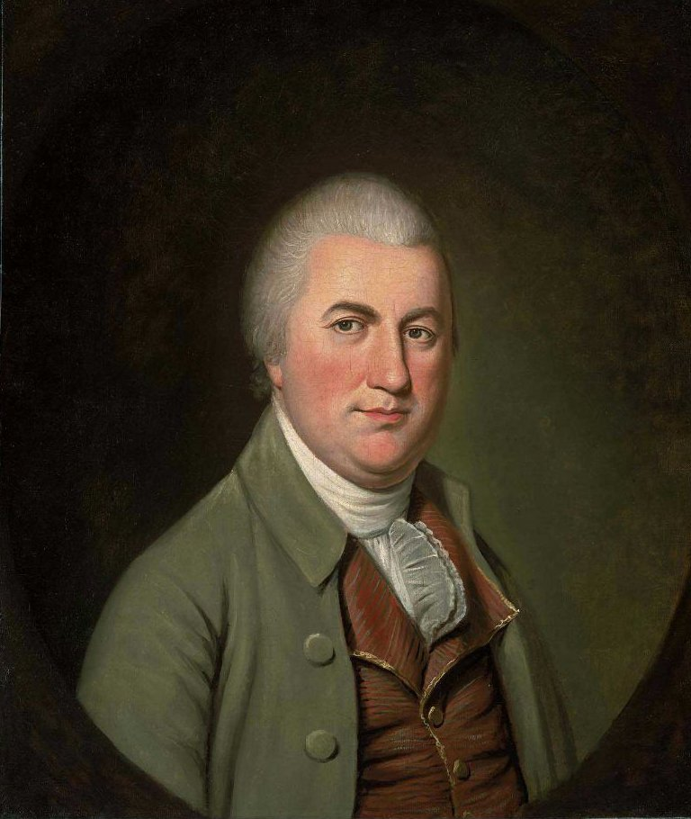 Nathaniel Gorham 1793 | Charles Willson Peale | oil painting