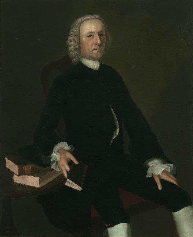 Dr Joshua Babcock 1761 | Joseph Blackburn | oil painting