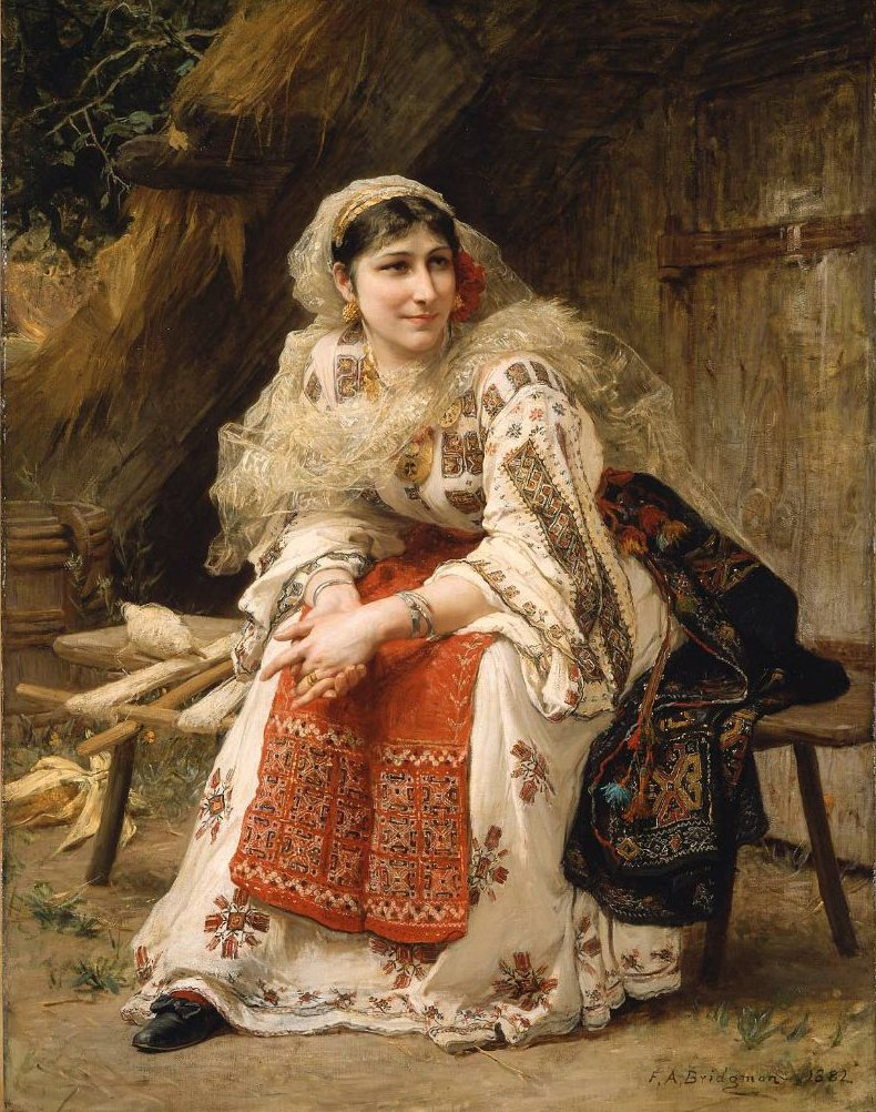 Armenian Woman 1882 | Frederick Arthur Bridgman | oil painting