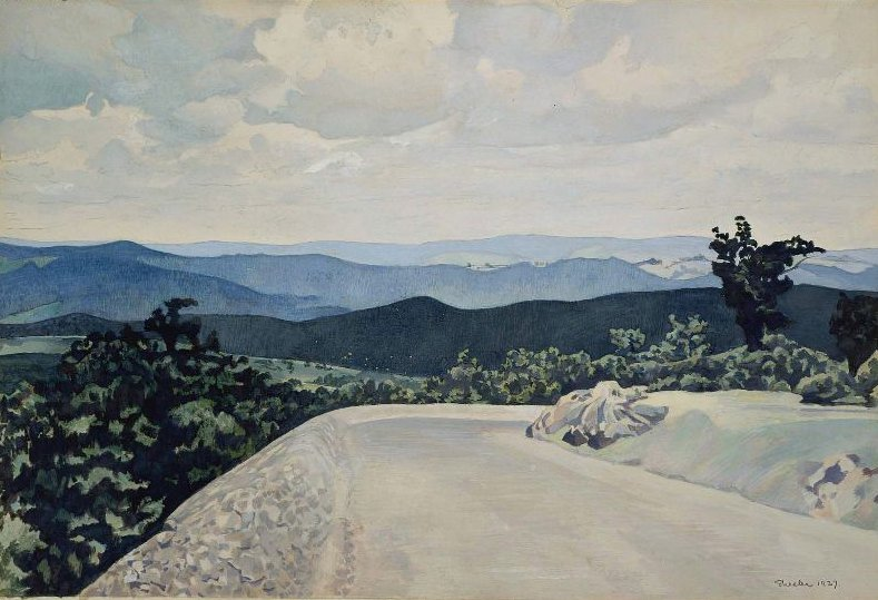 Blue Ridge Mountains 1937 | Charles Sheeler | oil painting