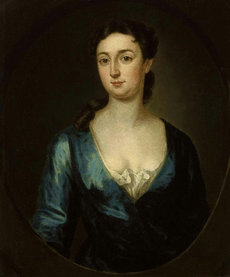 Mrs James MacSparran Hannah Gardiner 1732 | John Smibert | oil painting