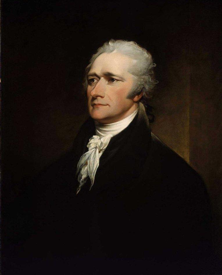 Alexander Hamilton 1806 | John Trumbull | oil painting