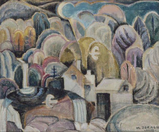 Whippoorwills 1917 | Marguerite Zorach | oil painting