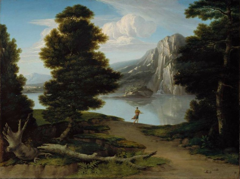 Landscape with a Lake 1804 | Washington Allston | oil painting