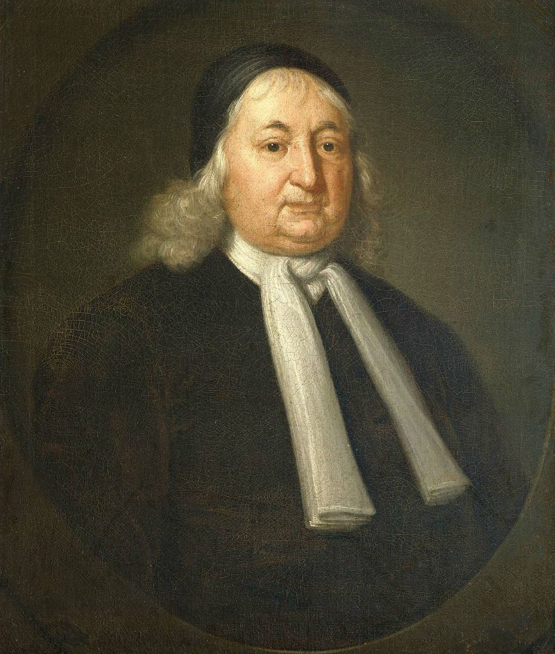 Judge Samuel Sewall 1729 | John Smibert | oil painting