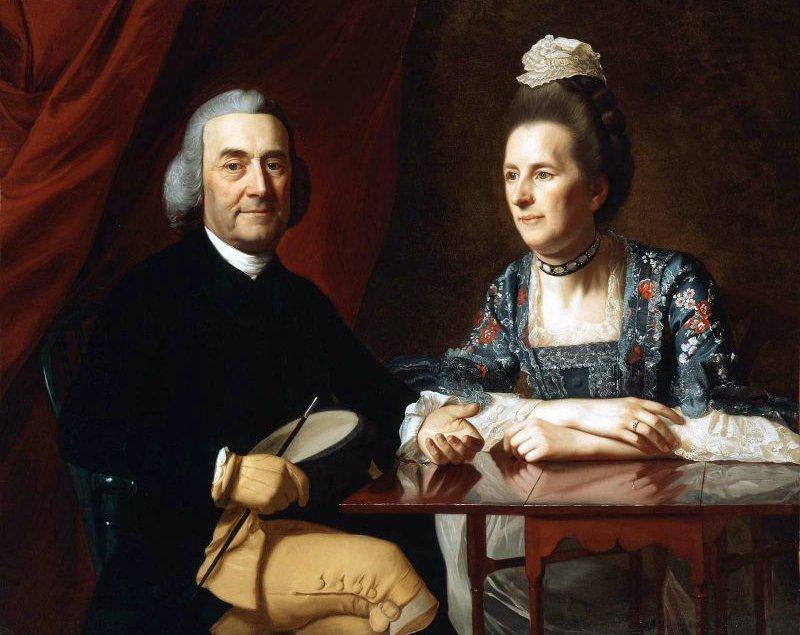 Mr and Mrs Isaac Winslow Jemima Debuke 1773 | John Singleton Copley | oil painting