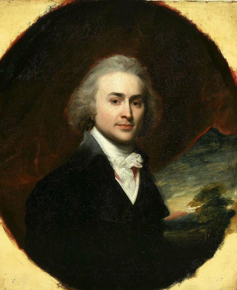 John Quincy Adams 1795 | John Singleton Copley | oil painting