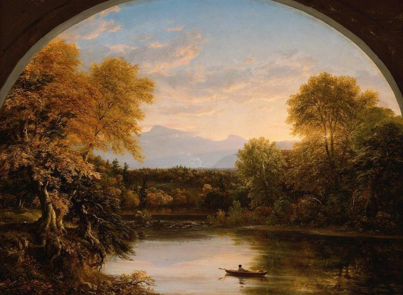 Sunset in the Catskills 1841 | Thomas Cole | oil painting